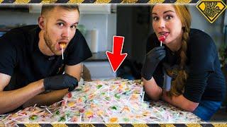 Download Can Melting 1,000 Lollipops Make One MASSIVE Lollipop? Video
