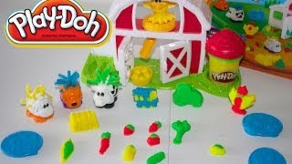Download PLAY-DOH AMIGUITOS DE LA GRANJA|Play-Doh Farm Barnyard Pals Animal Activities Mundo de Jugutes Video