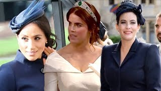 Download Princess Eugenie's Royal Wedding Features Harry, Meghan and More A-List Guests Video