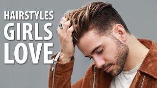 Download 5 HAIRSTYLES GIRLS LOVE ON GUYS   Best Men's Hairstyles   ALEX COSTA Video