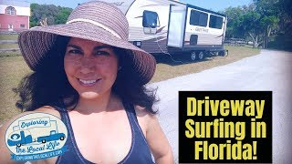 Download Florida Driveway Surfing - Moochdocking - Lessons Learned - Full Time RV Living Video