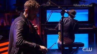 Download OneRepublic - Apologize +Kids (Ryan breaks a key) (iHeartRadio) Video