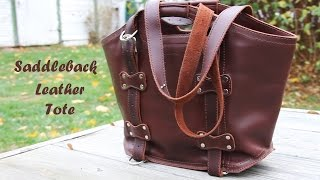 Download Saddleback Leather- Large Tote- 2 month Review Video