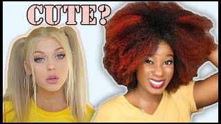 Download I TRIED A WHITE GIRL'S ″FAVORITE HAIRSTYLES″ [Loren Gray] Video