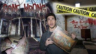 Download OUIJA BOARD IN ABANDONED CRIME SCENE / OUIJA BOARD IN HAUNTED VILLAGE GONE TERRIBLY WRONG Video