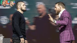 Download Body Language Analysis McGregor vs Khabib Faceoff Video