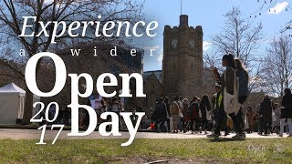 Download Experience a wider Open Day in 2017 Video
