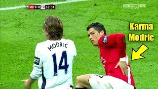Download Cristiano Ronaldo Shuts Up Luka Modric After He Provoked Ronaldo #Instant karma Video