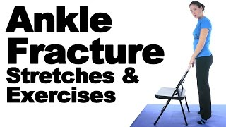 Download Ankle Fracture Stretches & Exercises - Ask Doctor Jo Video