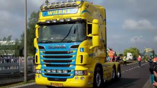 Download Tekno Event 2017 Trucks leaving , truck parade einde show Video