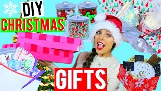 Download DIY Christmas Gifts | Easy + Last Minute Present Ideas! Kristi-Anne Beil Video