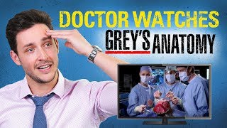 Download Real Doctor Reacts to GREY'S ANATOMY | Medical Drama Review | Doctor Mike Video