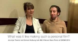 Download Simon Helberg and Jocelyn Towne talk We'll Never Have Paris at SXSW 2014 Interview Video