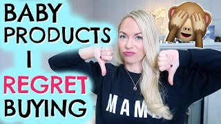 Download BABY PRODUCTS I REGRET BUYING | BABY PRODUCTS YOU DON'T NEED! EMILY NORRIS Video