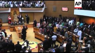 Download Swearing in of new Ghanian president John Dramani Mahama Video