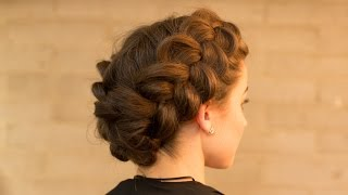 Download Double Dutch Braid Upstyle in Minutes Video