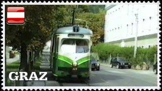 Download tram a Graz nel 1996 / Straßenbahn in Graz im Jahr 1996 Video