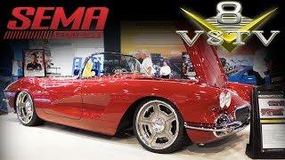 Download Dave Kindig's 1962 Corvette at 2018 SEMA Reveal 2018 SEMA Show V8TV Video