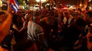 Download MIAMI'S LITTLE HAVANA CELEBRATES FIDEL CASTRO'S DEATH Video