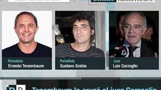 Download Tenembaum lo cruzó al juez Carzoglio Video