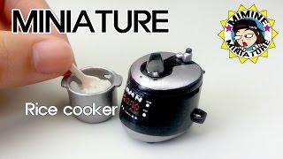 Download (ENG)미니어쳐 전기밥솥 만들기 (밥도 함ㅋㅋ) Miniature - Rice cooker -미미네미니어쳐 Video