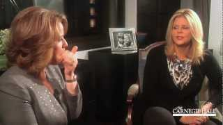Download Renée Fleming in Conversation with Susan Graham: Meeting, Dresses, ″Pant″ Roles, and French Song Video