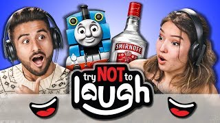 Download Try to Watch This Without Laughing or Grinning #80 (REACT) Video