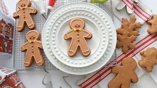 Download How to Make Gingerbread Dough and Decorate a Gingerbread Man Cookie Video