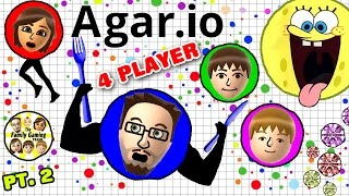 Download EATING EACH OTHER! AGAR.IO 4 Player FGTEEV Battle! Duddy vs. Family (Multiplayer Gameplay) Video