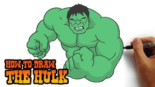 Download How to Draw The Hulk- Simple Step by Step Video Lesson Video