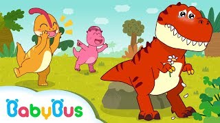 Download Dinosaur Has no Friends | Dinosaur Song | Baby Shark | Animal Song for Kids | BabyBus Video