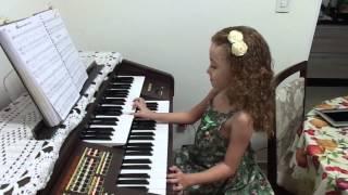 Download Hino 454 CCB - Sofia 6 anos Tocando Orgão Video
