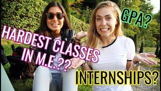 Download Hardest Classes in Mechanical Engineering / Hard to Keep Good GPA in Engineering? / Internships? Video