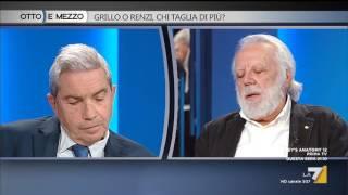 Download Otto e mezzo - Grillo o Renzi, chi taglia di più? (Puntata 24/10/2016) Video