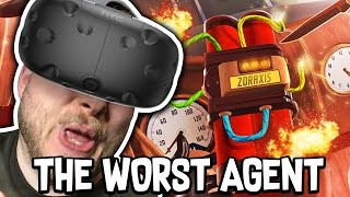 Download THE WORST AGENT EVER!! - I EXPECT YOU TO DIE!! (HTC Vive) Video