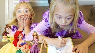 Download Ultimate 3 marker Disney Princess Challenge!!! Video