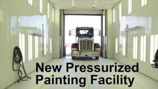 Download New Truck Painting Facility in Council Bluffs, Iowa Video