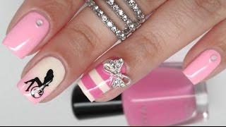 Download Barbie Birthday Nail Art Video