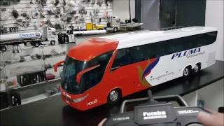 Download BRUTUS - ONIBUS MARCOPOLO G7 DE CONTROLE REMOTO 1/14 Video
