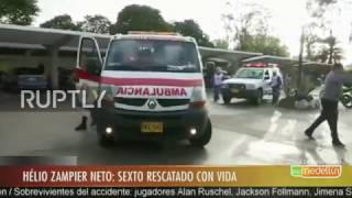 Download Colombia: Sixth plane crash survivor arrives at hospital after late discovery Video