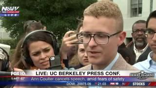 Download BREAKING: Ann Coulter Cancels Speech At UC Berkeley (FNN) Video