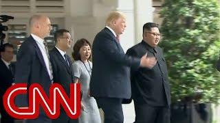 Download Trump shows Kim Jong Un presidential limousine Video