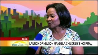Download Ncedi Stemela on Nelson Mandela Children's Hospital Video