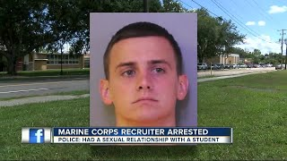 Download Marine Corps recruiter arrested Video