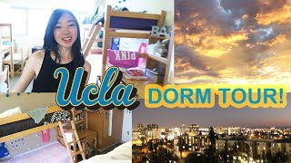 Download *5 MINUTE* UCLA Dorm Tour 2017 | Deluxe Triple Hall, communal bathrooms, sunset & city views! Video