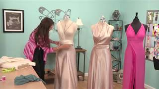 Download Learn How to Drape a Gown - Fashion Design DIY Video
