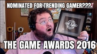 Download NOMINATED FOR TRENDING GAMER!!!! GAME AWARDS 2016 Video