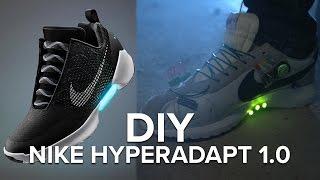 Download DIY Nike HyperAdapt Self-Lacing Shoes Video