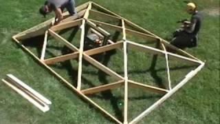 Download World's Fastest Wooden Hip Roof.wmv Video