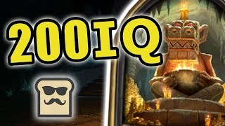 Download DISGUISED TOAST BREAKS THE DUNGEON RUN! | KOBOLDS AND CATACOMBS | TRAPPED ROOM | HEARTHSTONE Video